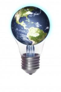 El mundo en una bombilla. Eficiencia energética.