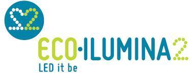 Logo EcoIlumina2. Ahorra en tu factura de la luz usando LED