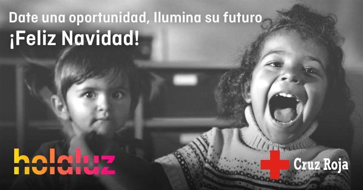 Ilumina su futuro: Cruz Roja y Holaluz